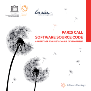Paris Call on Software Source Code as Heritage for Sustainable Development